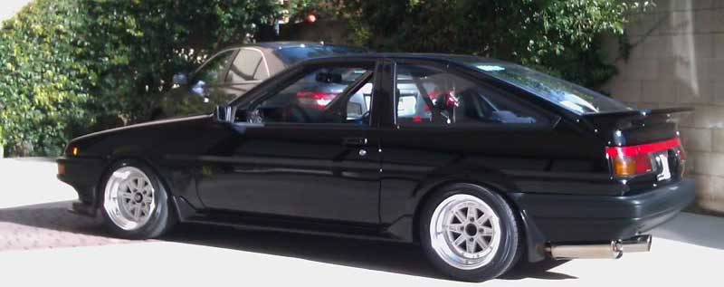 AE86 on SSR MKIII, another nice set of wheels