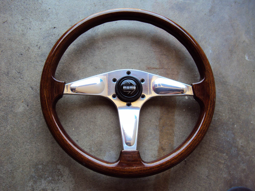 Momo Steering Wheel Honda Momo Wood Steering Wheel With