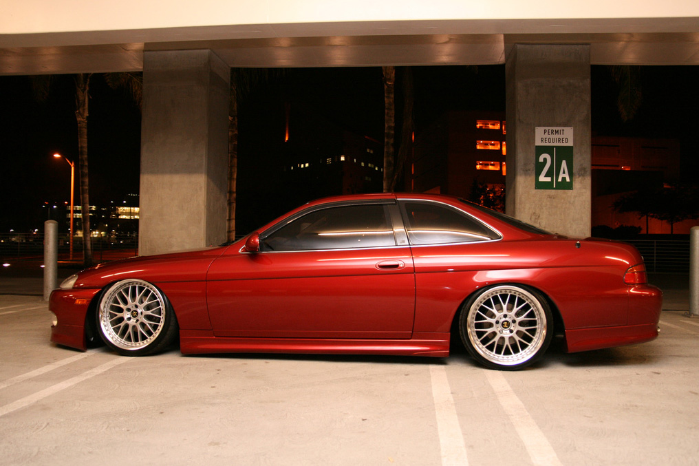 "Lexus SC300 Soarer on 19"" Work VS-XX"