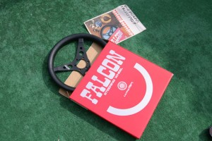 Watanabe Falcon Steering Wheel with box