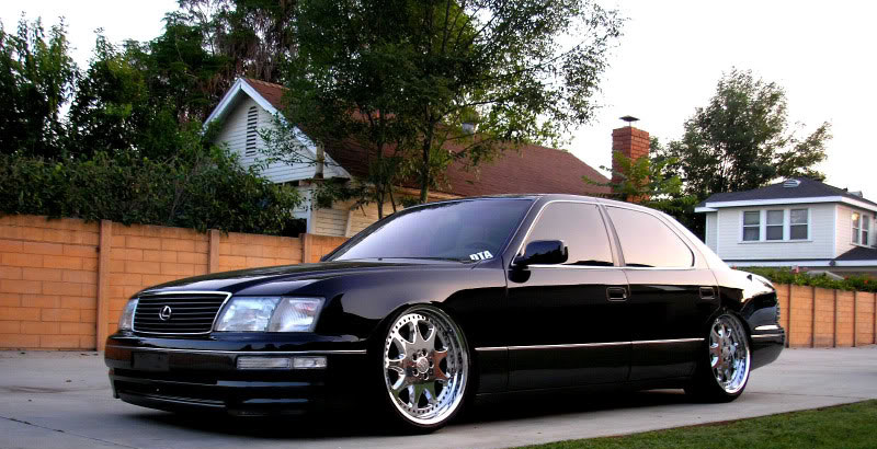 Brabus Monoblock Iii Lexus Ls400 An Unlikely