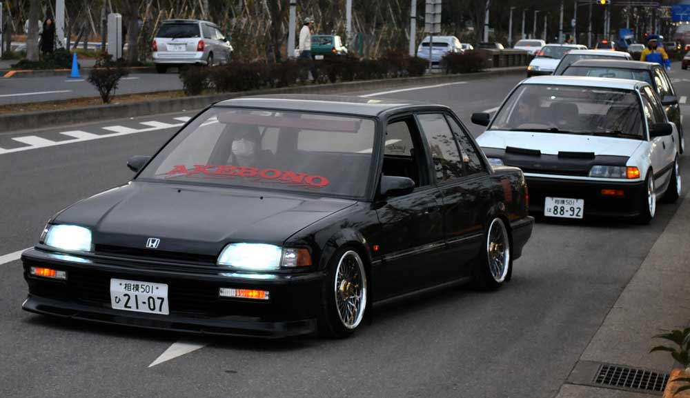 Akebono Usdm Ef Civic On Work Ewing A Modern Classic
