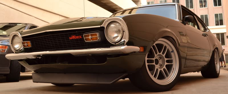 FORD MAVERICK on ENKEI RPF1