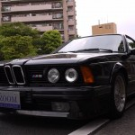 BMW M6 E24 on BBS RS Front Shot