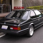 BMW M6 E24 on BBS RS Rear Shot