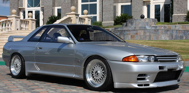 BBS RS on Nissan Skyline R32 Skyline GT-R
