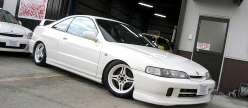 JDM Honda Integra Type R on SSR Type X