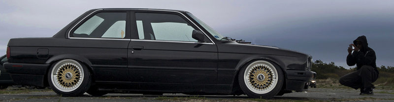 BBS RS ON BMW E30 16x10 16x9
