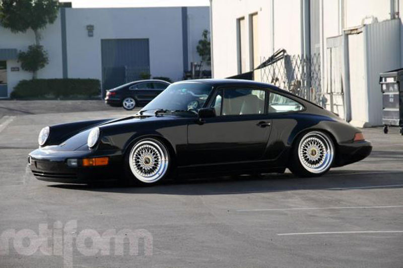 "Porsche 911 on 18"" BBS RS from Rotiform"