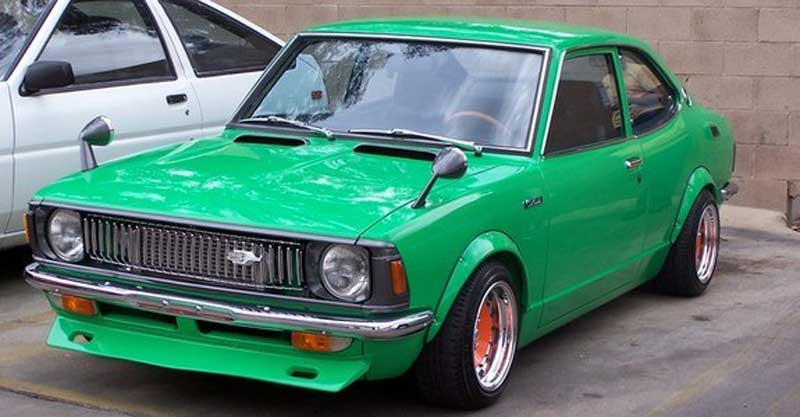 1972 Toyota Corolla KE20 on Compomotive TH300