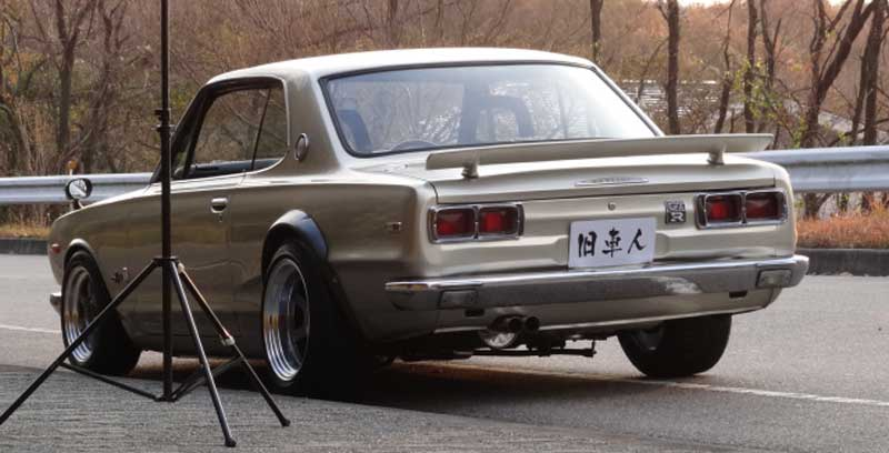 Nissan Skyline HT 2000GT-R KPGC10 with 1uz V8 on Volk Racing TE37V by Rocky Auto