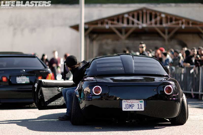 Mazda Miata with Pit Crew Racing Kit on BBS RM