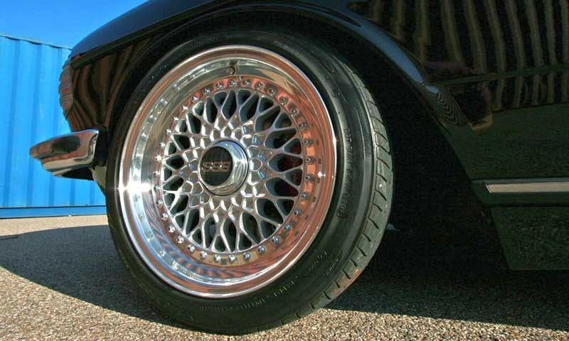 BBS RS on Mercedes Benz 280CE W123