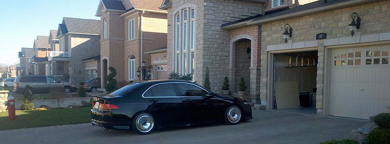 TSX In the Driveway