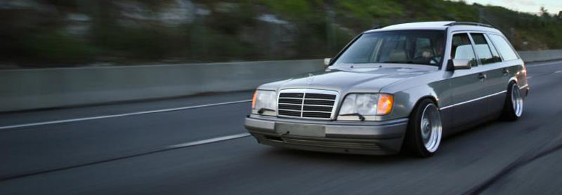 Mercedes Benz E320 Estate W124 on BBS RS