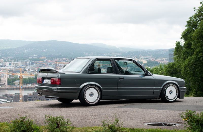 BBS RS Turbofans on E30 BMW 325i M-tech II