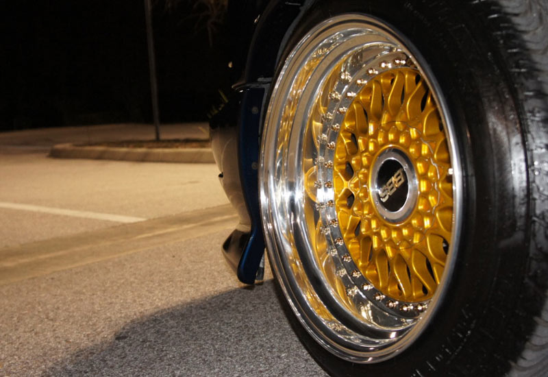 Chevrolet S10 Extreme Stanced on BBS RS