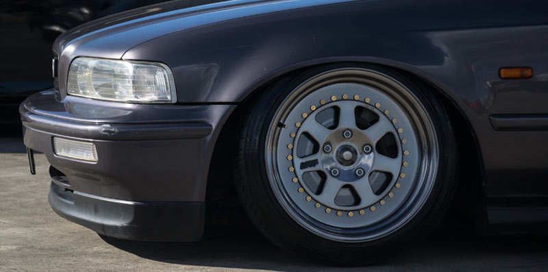 Mugen M7 Rebarreled on Honda Legend