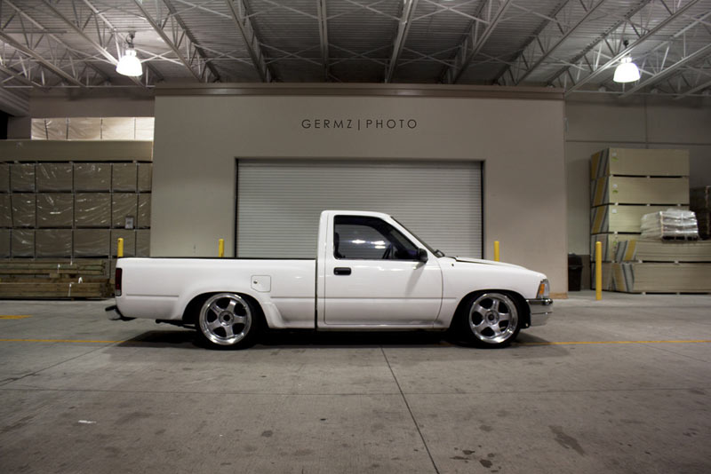 JDM Truck - Toyota Pickup on Work Meister S1