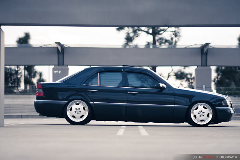 Mercedes Benz C280 W202 on AMG Aero I 3 Piece Wheels