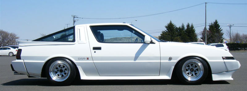 Mitsubishi Starion GSR-III on 14x10 SSR MK III from Japan