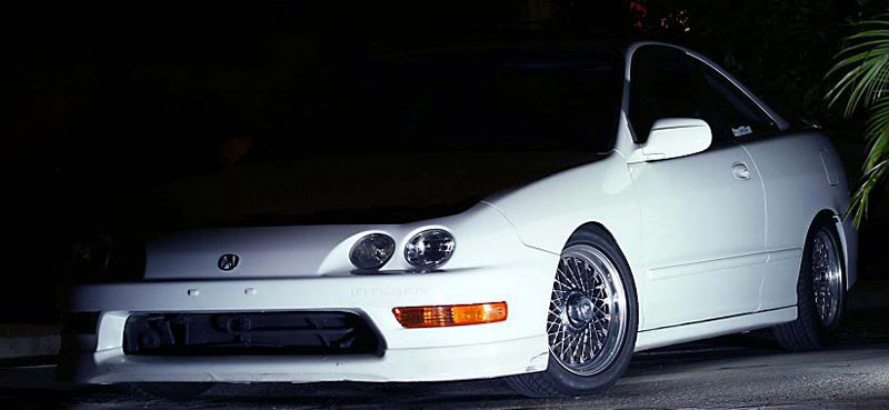 SSR EX-C Mesh on DC Acura Integra
