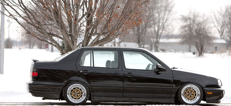 Volkswagen Jetta on Campagnolo Wheels