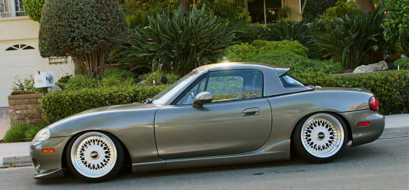 Mazda Miata NB on BBS RS