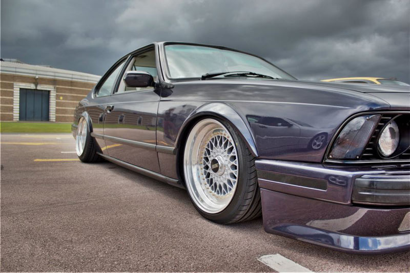 BMW E24 6 Series on Wide BBS RS