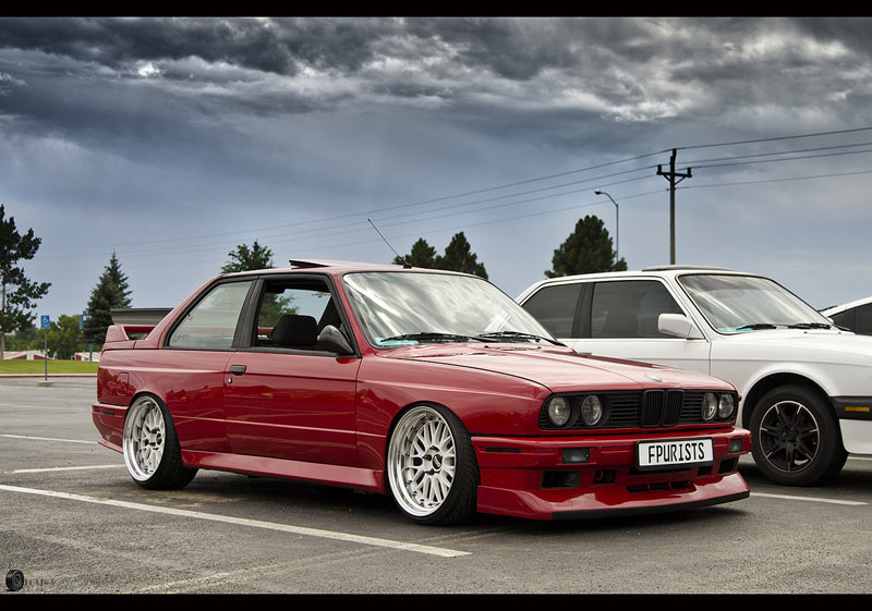 BMW E30 M3 on BBS LM