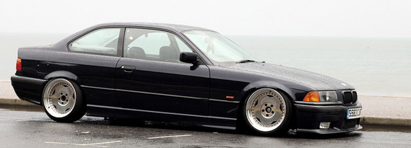 BMW E36 on OZ Breyton Wheels