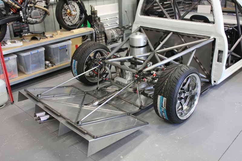 JDM Truck - Toyota Hilux Tube Chassis Drift Build