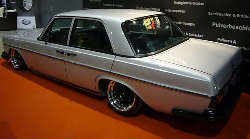 Mercedes Benz W108 Bagged on Custom 3 Piece ATS Barock