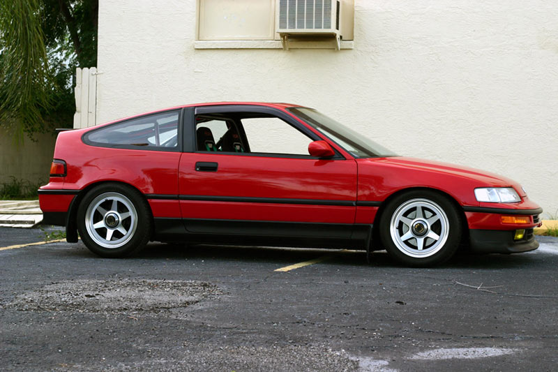 Honda CR-X on SSR Longchamp XR-C