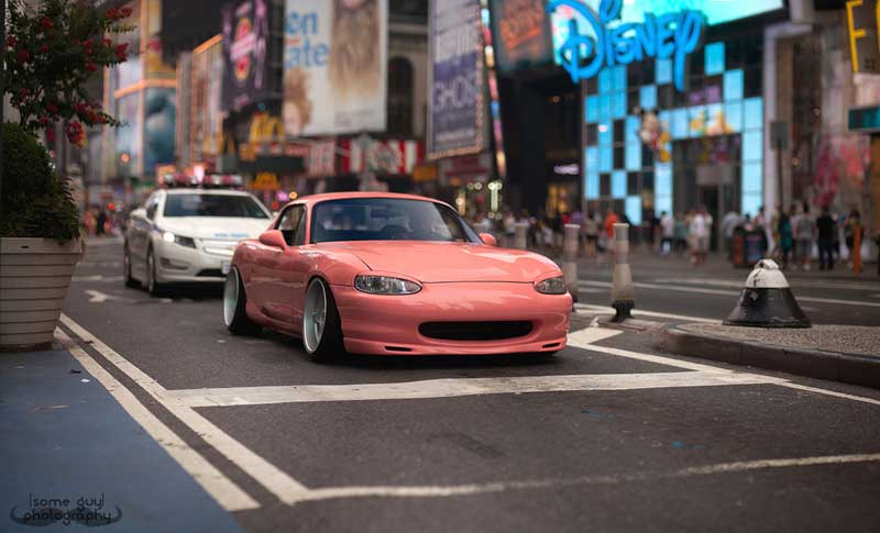 Mazda Miata NB on Brock B1