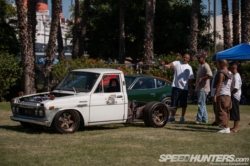 Toyota Hilux on Volk Racing TE37V