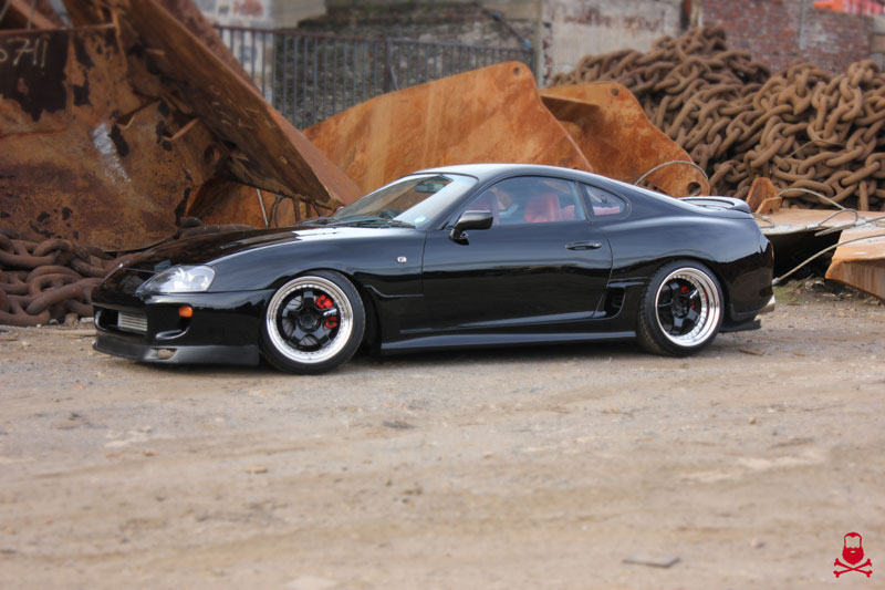 Toyota Supra SZ-R MKIV on Work Meister S1