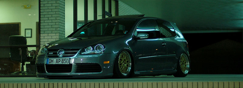Volkswagen Golf R32 MK5 on BBS LM