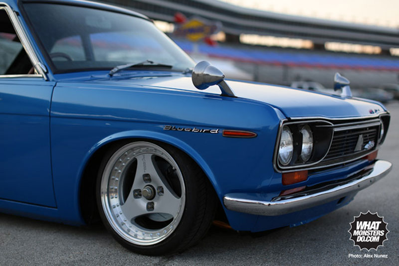 Advan Oni on Datsun Bluebird SSS Coupe