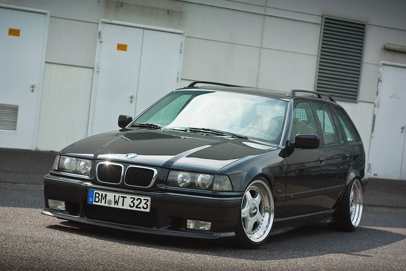 BBS RF on E36 BMW 323iA Touring Wagon