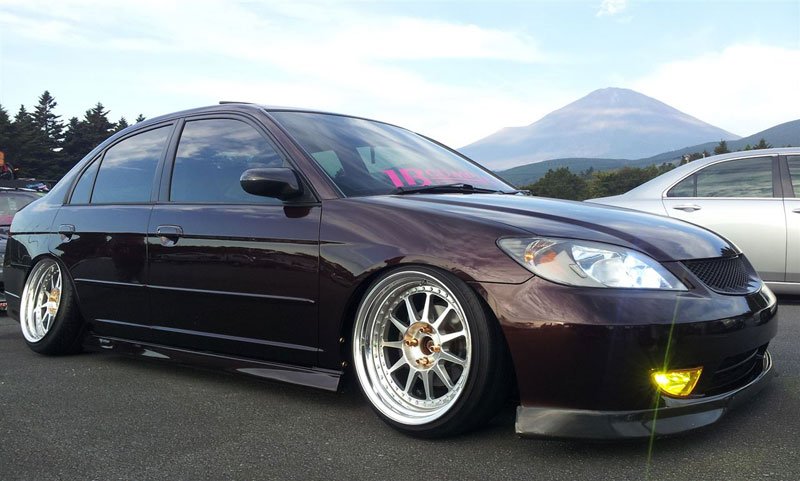 Barramundi Design Eleven Wheels on Honda Civic Ferio