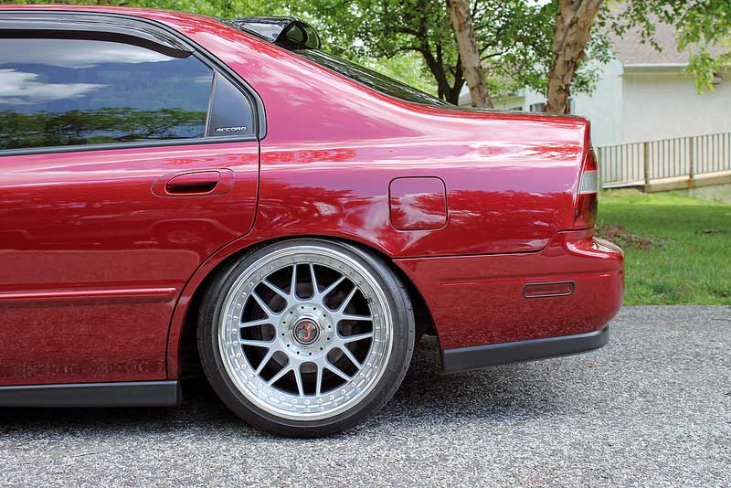 Racing Hart Type-C on CD Honda Accord