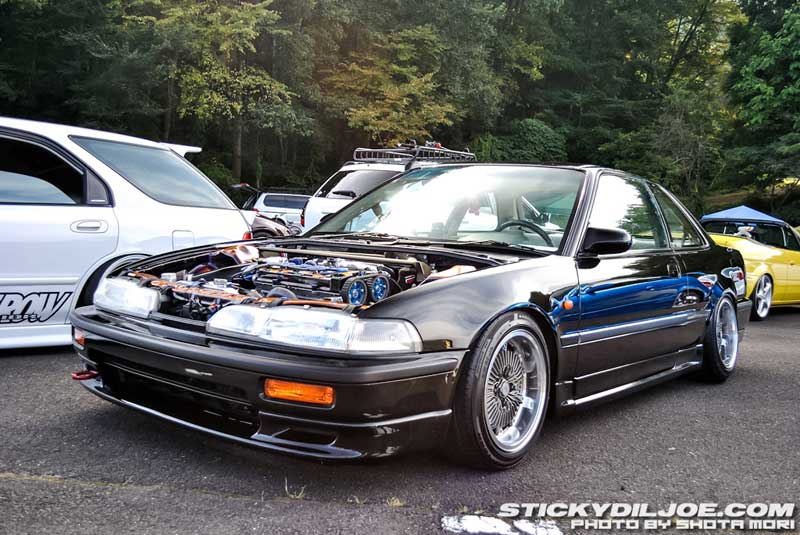 black acura integra jdm. rebarreled mugen cf48 on jdm da acura integra black jdm l