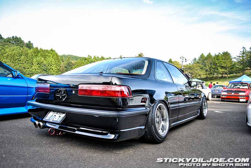Rebarreled Mugen CF-48 on JDM DA Acura Integra