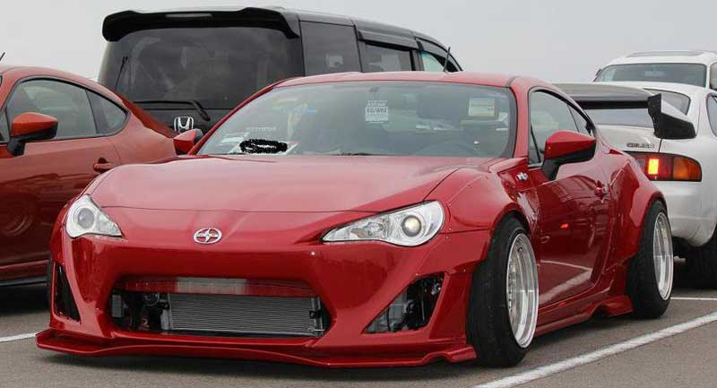 Rocket Bunny Toyota GT 86 Scion FR-S BBS RS