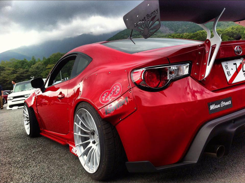 Rocket Bunny Scion FR-S on Enkei RS05RR