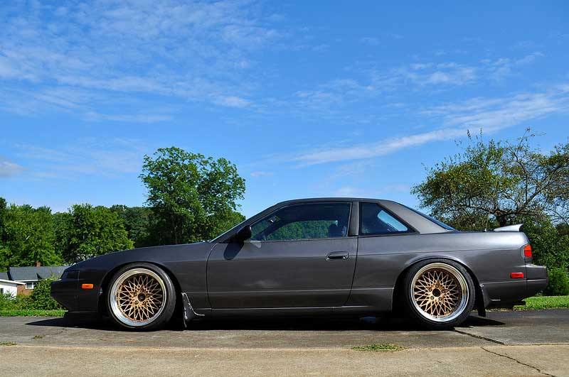 on S13 Nissan 240sx Coupe