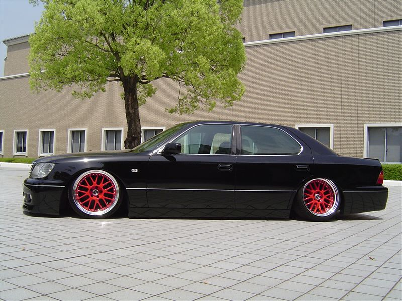 SSR Professor MS1 on Toyota Celsior / Lexus LS400