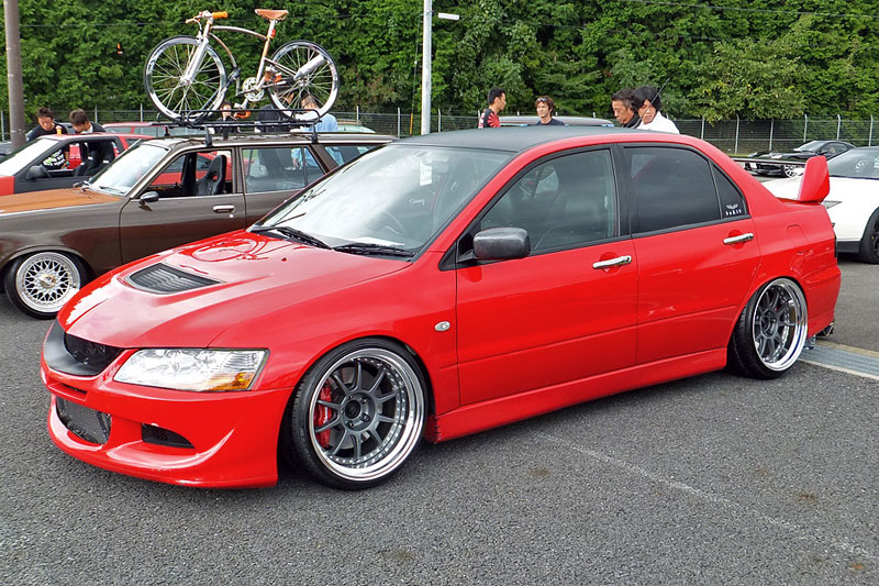 SSR SP3 on Mitsubishi Evo VIII