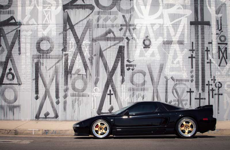 Work Meister S1 on NA1 Acura NSX
